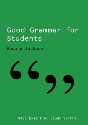 Good Grammar for Students