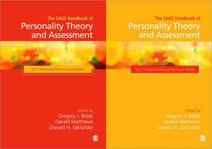 The SAGE Handbook of Personality Theory and Assessment: Collection
