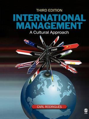 International Management: A Cultural Approach