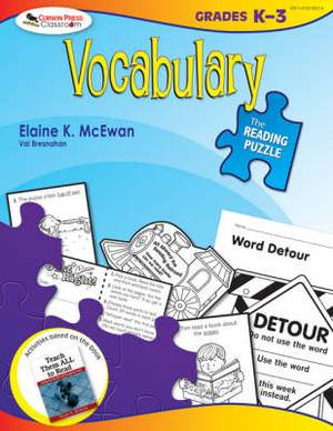 The Reading Puzzle: Vocabulary, Grades K-3