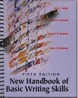 New Handbook Basic Writing Skills