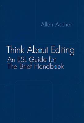 Think AB Edit ESL Guide for Brie