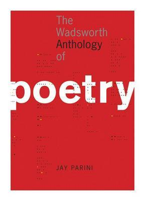 The Wadsworth Anthology of Poetry (Book Only)