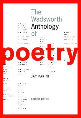 The Wadsworth Anthology of Poetry, Brief Edition (Book Only)