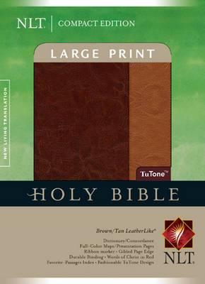 Large Print Bible-NLT-Compact