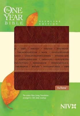 One Year Bible-NIV-Slimline: Arranged in 365 Daily Readings