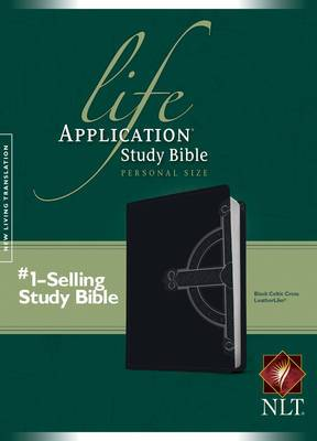 Life Application Study Bible-NLT-Personal Size Celtic Cross