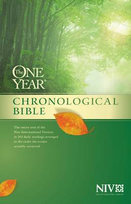 One Year Chronological Bible-NIV