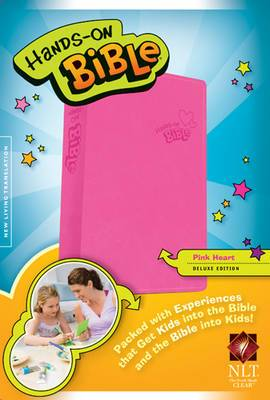 Hands-On Bible-NLT-Pink Heart