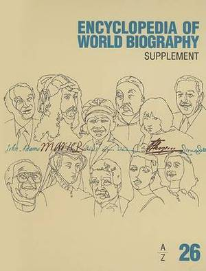 Encyclopedia of World Biograhy: Supplement A-Z