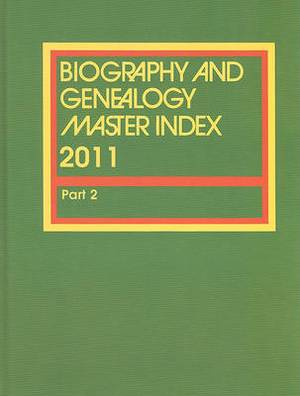 Biorgraphy and Genealogy Master Index
