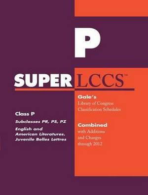 SUPERLCCS 2012: Subclass PR-Pz: English Literature, Fiction