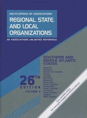 Southern and Middle Atlantic States: Regional, State, and Local Organizations