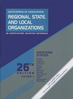 Western States: Regional, State, and Local Organizations