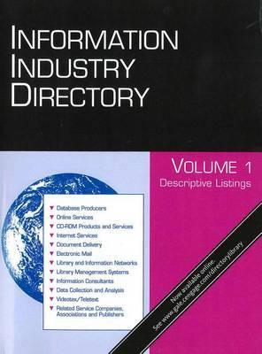 Information Industry Directory: 4 Volume Set