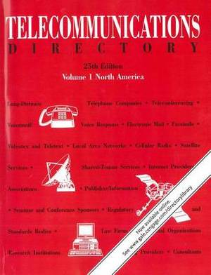 Telecommunications Directory: 4 Volume Set