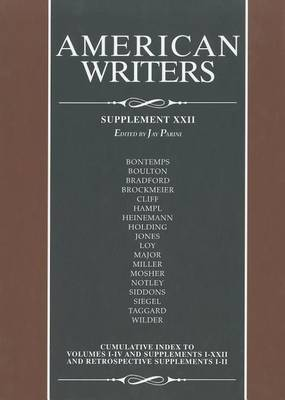 American Writers: Supplement XXII