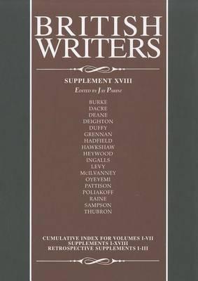 British Writers: Supplement XVIII