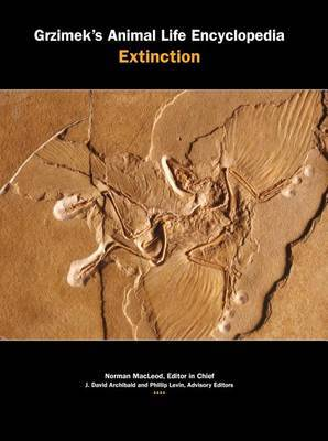 Grzimek's Animal Life Encyclopedia: Extinct Life, 2 Volume Set