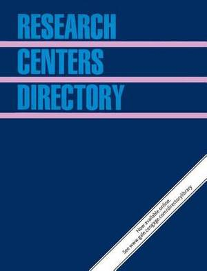 Research Centers Directory: 5 Volume Set