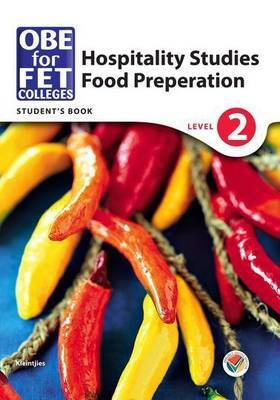 OBE for FET colleges food preparation: Level 2: Learner's book