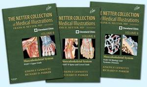The Netter Collection of Medical Illustrations: Volume 6: Musculoskeletal System Package