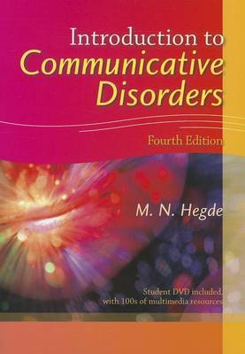 Introduction to Communicative Disorders