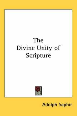 The Divine Unity of Scripture