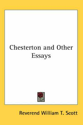 Chesterton and Other Essays