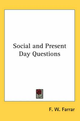 Social and Present Day Questions