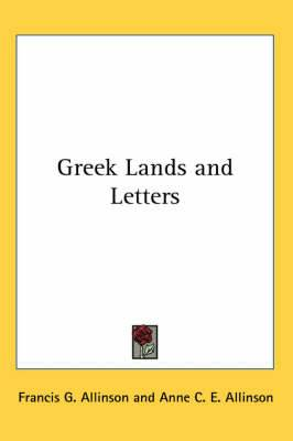 Greek Lands and Letters