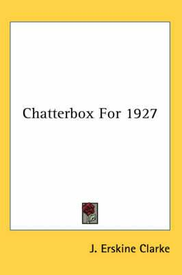 Chatterbox For 1927