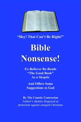 Bible Nonsense!: Hey! That Can't Be Right!