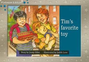 Rigby PM Platinum Collection: Individual Student Edition Blue (Levels 9-11) Tim's Favorite Toy