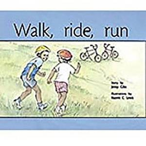 Rigby PM Plus: Leveled Reader Bookroom Package Yellow (Levels 6-8) Walk, Ride, Run