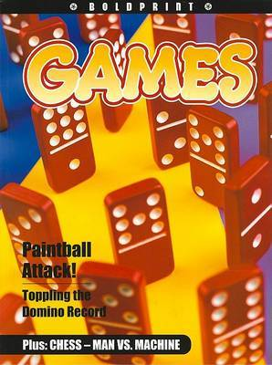 Steck-Vaughn Boldprint Anthologies: Individual Student Edition Navy Games
