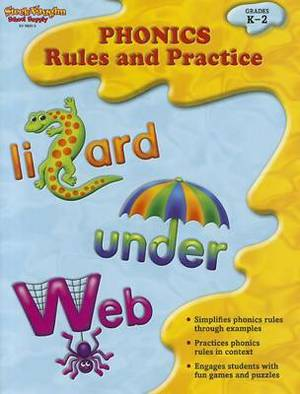 Phonics Fun, Grades K-2: Rules and Practice