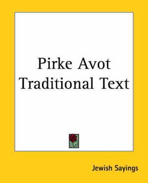 Pirke Avot Traditional Text