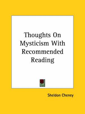Thoughts on Mysticism with Recommended Reading