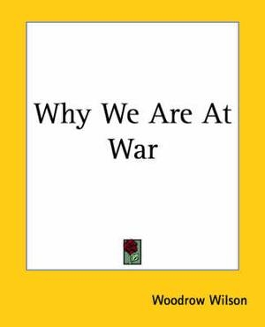 Why We Are At War
