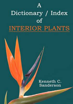Dictionary / Index of Interior Plants