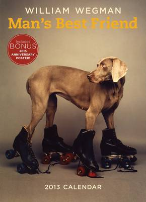 William Wegman's 20 Years of Man's Best Friend 2013 Wall Calendar