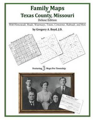 Family Maps of Texas County, Missouri