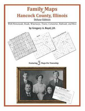 Family Maps of Hancock County, Illinois