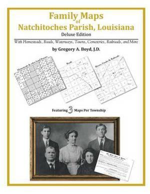 Family Maps of Natchitoches Parish, Louisiana