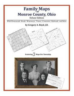 Family Maps of Monroe County, Ohio