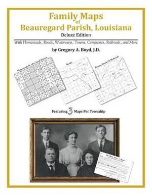 Family Maps of Beauregard Parish, Louisiana