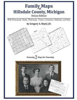 Family Maps of Hillsdale County, Michigan