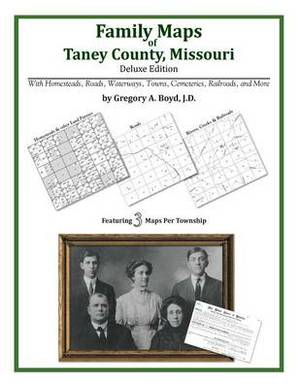 Family Maps of Taney County, Missouri