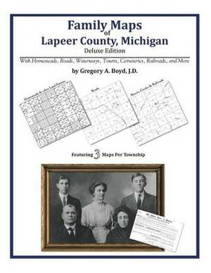 Family Maps of Lapeer County, Michigan